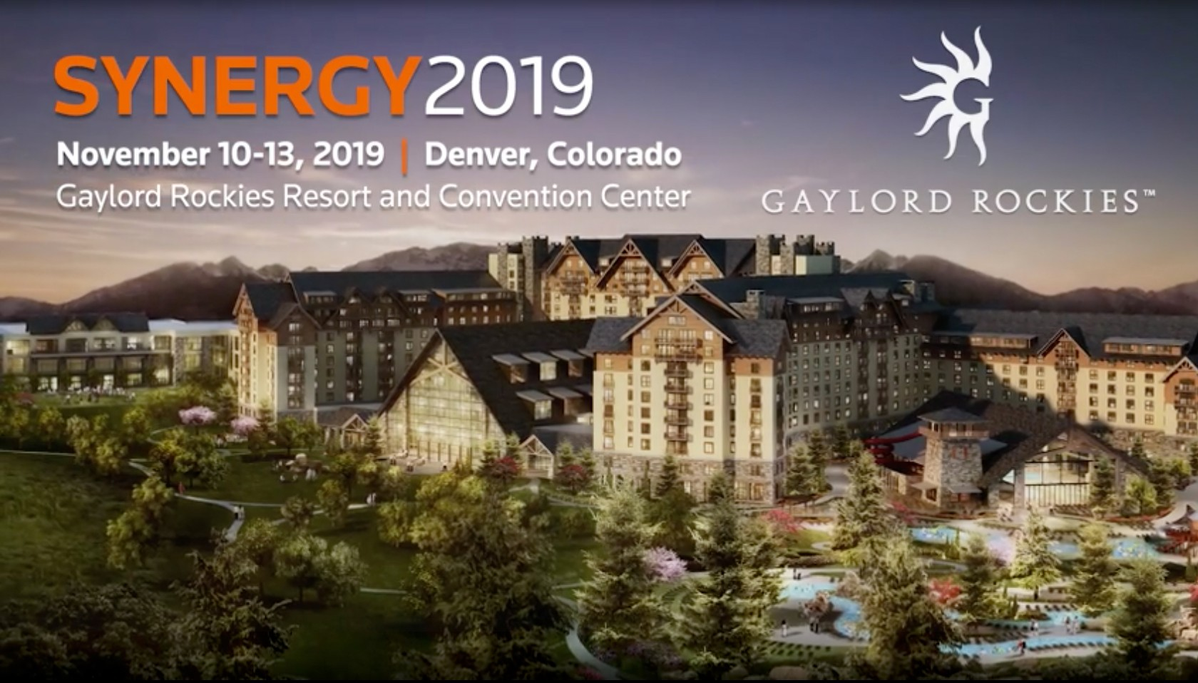Learn more about SYNERGY 2019