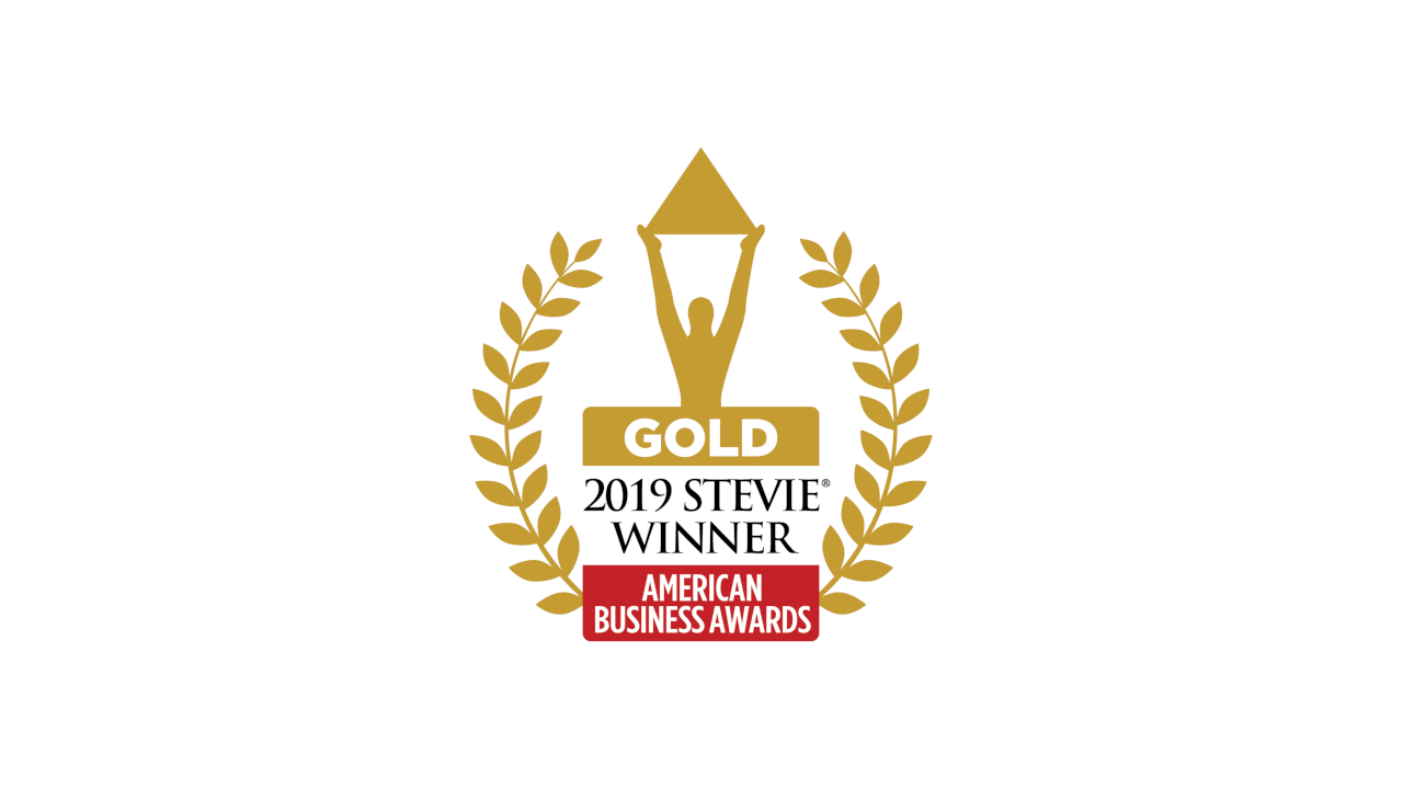 ABA 2019 Gold Stevie Award Winner Logo
