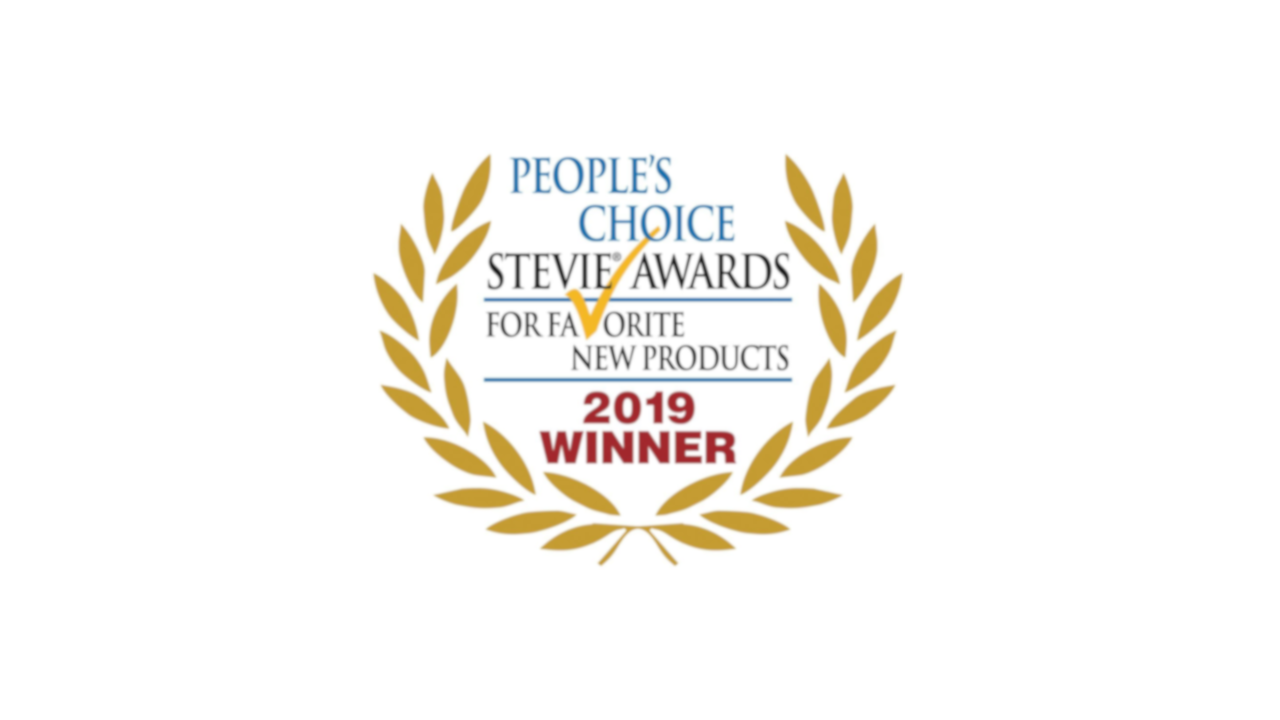 People's Choice Stevie Awards 2019 Winner Favorite New Products logo