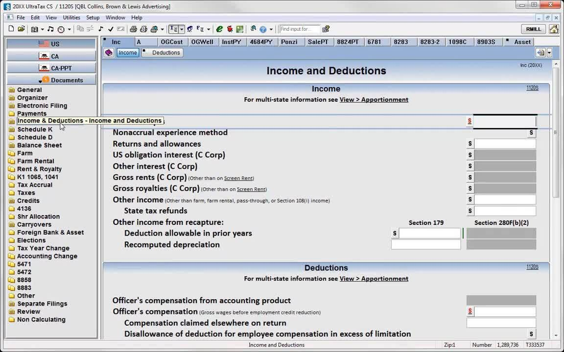 Business Tax Workflow with Thomson Reuters Onvio, UltraTax CS, and  Workpapers CS