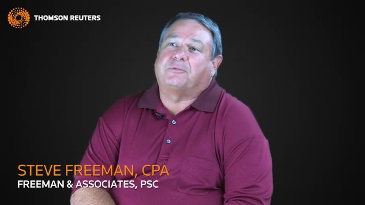 CPA Steve Freeman on SaaS for CS Professional Suite