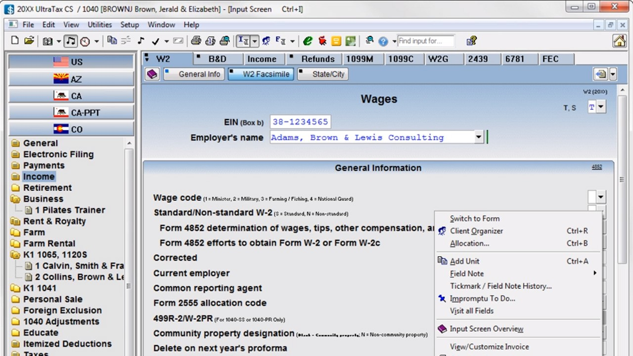 professional tax software for tax preparers