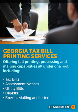 Georgia Tax Bill Printing Services