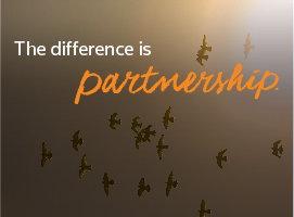 The Difference is Partnership