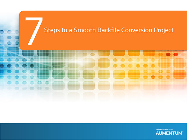 Expert Series: Backfile Conversion Cover