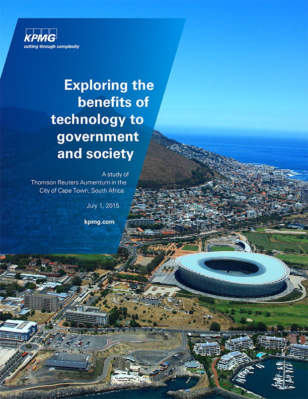 KPMG Study : City of Cape Town Impact Report Cover