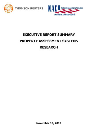 Property Assessment Management Systems Research — Executive Report Summary thumbnail
