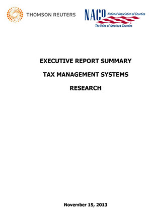 Tax Management Systems Research — Executive Report Summary thumbnail