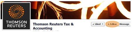 Thomson Reuters Tax & Accounting Facebook banner