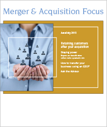 Sample Mergers and Acquisitions Article