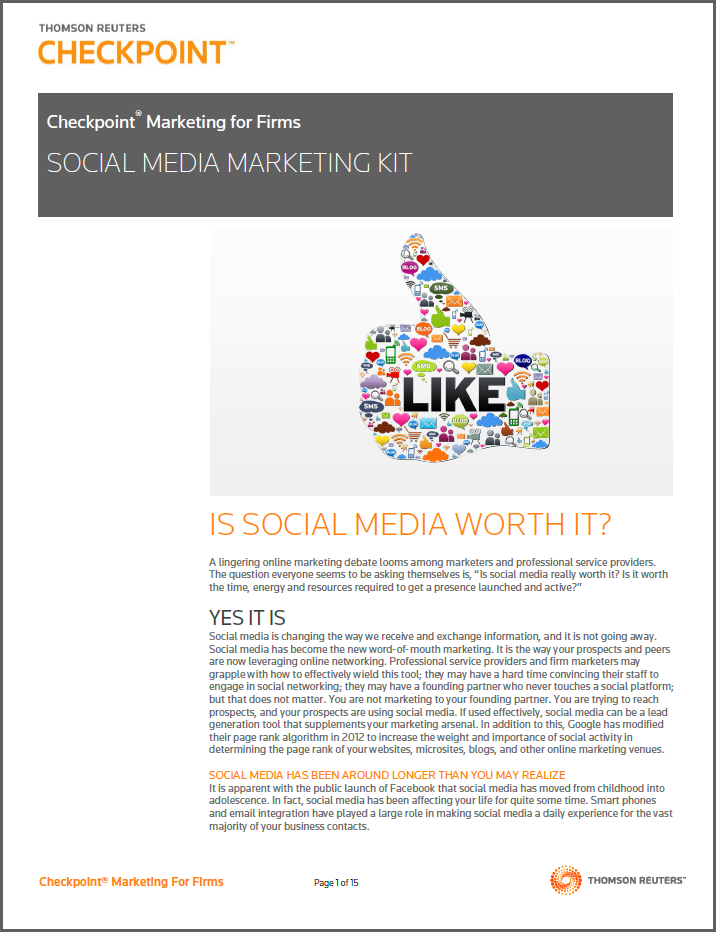Free Social Media Marketing Kit