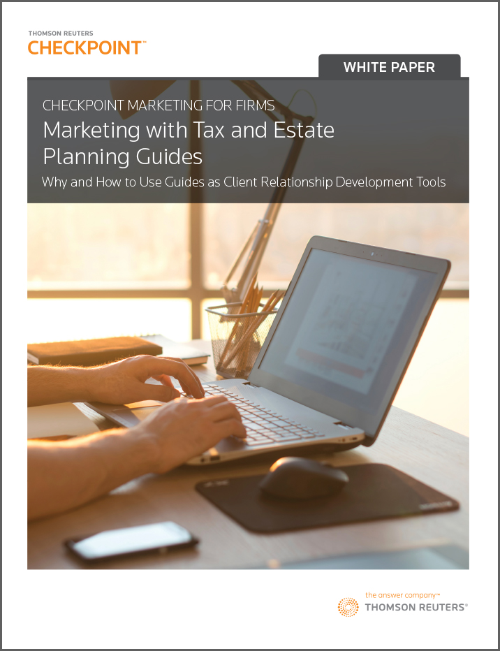 Free Tax and Estate Planning Guides