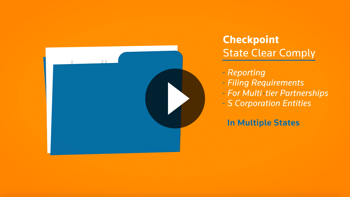 Watch this brief video to learn more about Checkpoint State Clear Comply now.