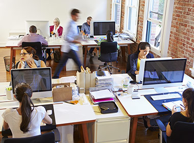Designed For Multiple Staff To Work Concurrently