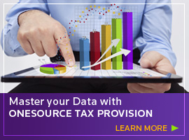 Master your data with ONESOURCE Tax Provision - learn more