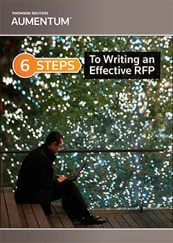 How To Write a Great RFP e-book cover