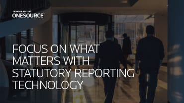 Focus on What Matters with Statutory Reporting Technology eBook Cover
