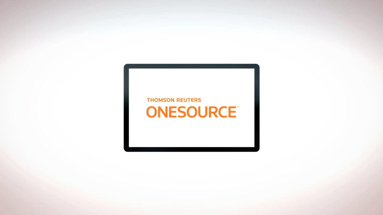 ONESOURCE - Tax & Accounting - Thomson Reuters Onesource