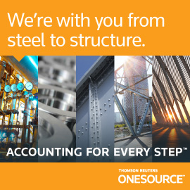 We're with you from steel to structure. Direct Tax.