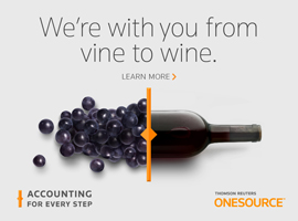 We're with you from Vine to Wine. Direct Tax.
