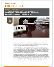Checkpoint IRS Special Report