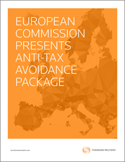 Special Report: European Commission Presents Anti-Tax Avoidance Package