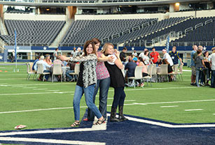 Photoshoot in AT&T stadium