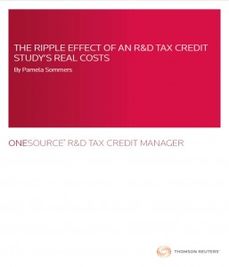 The Ripple Effect of an R&D Tax Credit Study's Real Costs