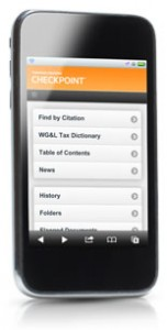 Thomson Reuters Checkpoint Now Available On-The-Go!