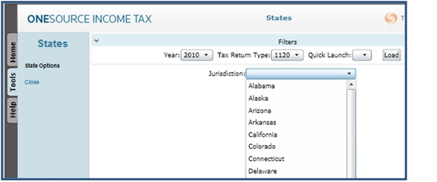 ONESOURCE Income Tax – State Tax Tips