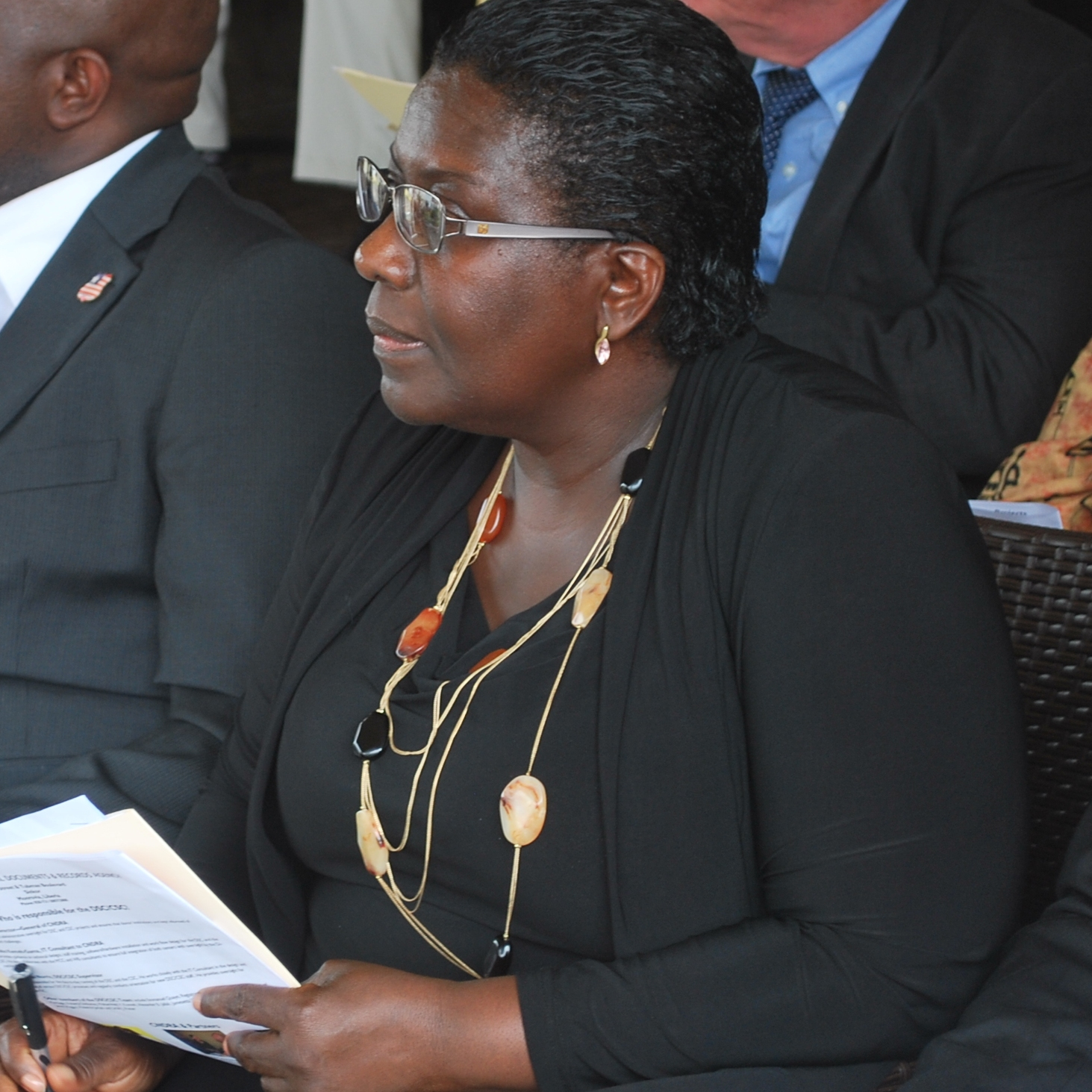 Philomena Bloh Sayeh, Director of the Liberian Government's Center for National Document and Records Agency (CNDRA)