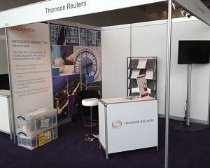 Thomson Reuters Attends SAP Financials in Amsterdam