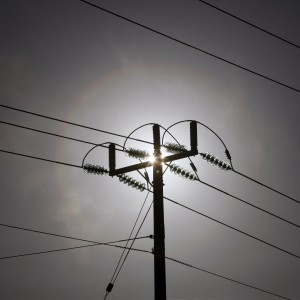 Power lines carrying electricty are seen near brown coal Hazelwood Power Station in Latrobe Valley