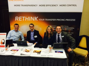 ONESOURCE Transfer Pricing Team members - Dominic Goslett, Oran Murphy, Bree Roberts and Ed Cail