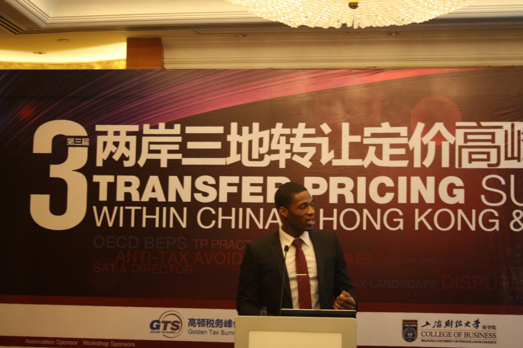 Presenting the benefits of using technology to manage TP operations at the GTS Transfer Pricing Summit