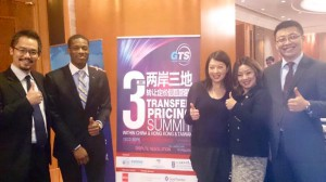 Thomson Reuters ONESOURCE team members at the GTS Tax Summit in Hong Kong.