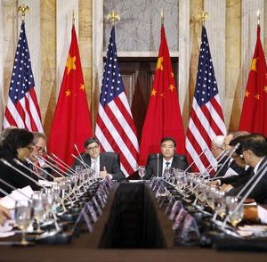 Lew delivers remarks with Wang at the U.S.-China Strategic and Economic Dialogue in Washington