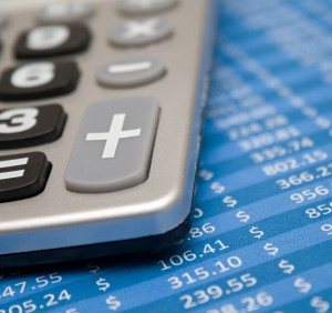 Calculating financial data