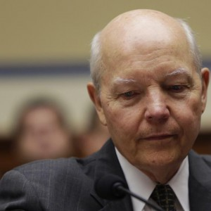 United States Internal Revenue Service Commissioner Koskinen appears at hearing in Washington
