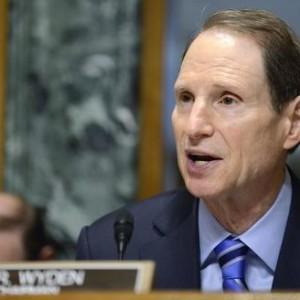 Sen. Ron Wyden attends first Senate Finance Committee hearing as chairman in Washington