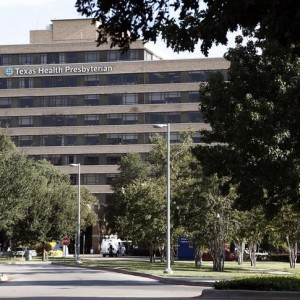 A general view of the Texas Health Presbyterian Hospital in Dallas