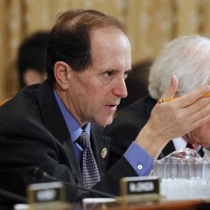 House Ways and Means Committee Chair Camp questions U.S. Secretary of the Treasury Geithner in Washington