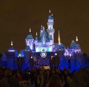 Sleeping Beauty's Castle is pictured during Disneyland's Diamond Celebration in Anaheim, California May 23, 2015. The Disneyland Resort is celebrating the 60th anniversary with a 24-hour open day.  REUTERS/Mario Anzuoni