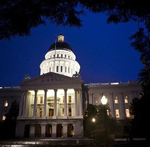 The exterior shot of the California State Capitol, Sacramento.  REUTERS/Max Whittaker