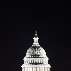 The U.S. Capitol dome is pictured in the pre-dawn darkness in this general view taken in Washington, October 18, 2013.  U.S. lawmakers launched an effort to resolve budget differences in a less confrontational fashion on Thursday as Washington picked up the pieces from a political crisis and 16-day government shutdown that has slowed the economy and undermined the country's international standing.   REUTERS/Jonathan Ernst    (UNITED STATES - Tags: POLITICS BUSINESS)