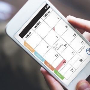 Tips From a Scheduling Junkie: Using Editorial Calendars to Organize Your Marketing Efforts
