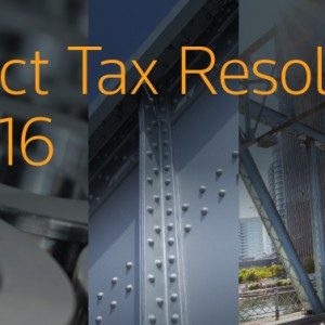5 Steps to a Strong 2016: A Steel-to-Structure Direct Tax Process