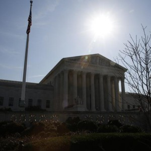 The U.S. Supreme Court building is seen in Washington, March 16, 2016. President Barack Obama on Wednesday nominated Appeals Court Judge Merrick Garland to the U.S. Supreme Court.  REUTERS/Jim Bourg