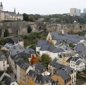 General view of the city of Luxembourg October 11, 2013.   REUTERS/Francois Lenoir
