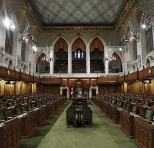 The House of Commons on Parliament Hill in Ottawa is pictured September 14, 2012. Parliamentarians will return from their summer break September 17.    REUTERS/Chris Wattie